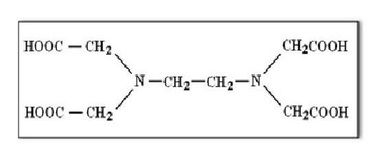 ethylene diamin tetraacetic acid